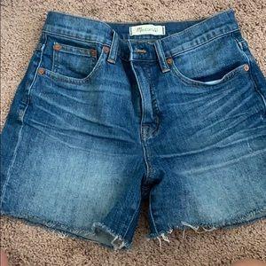 Madewell High Waist shorts